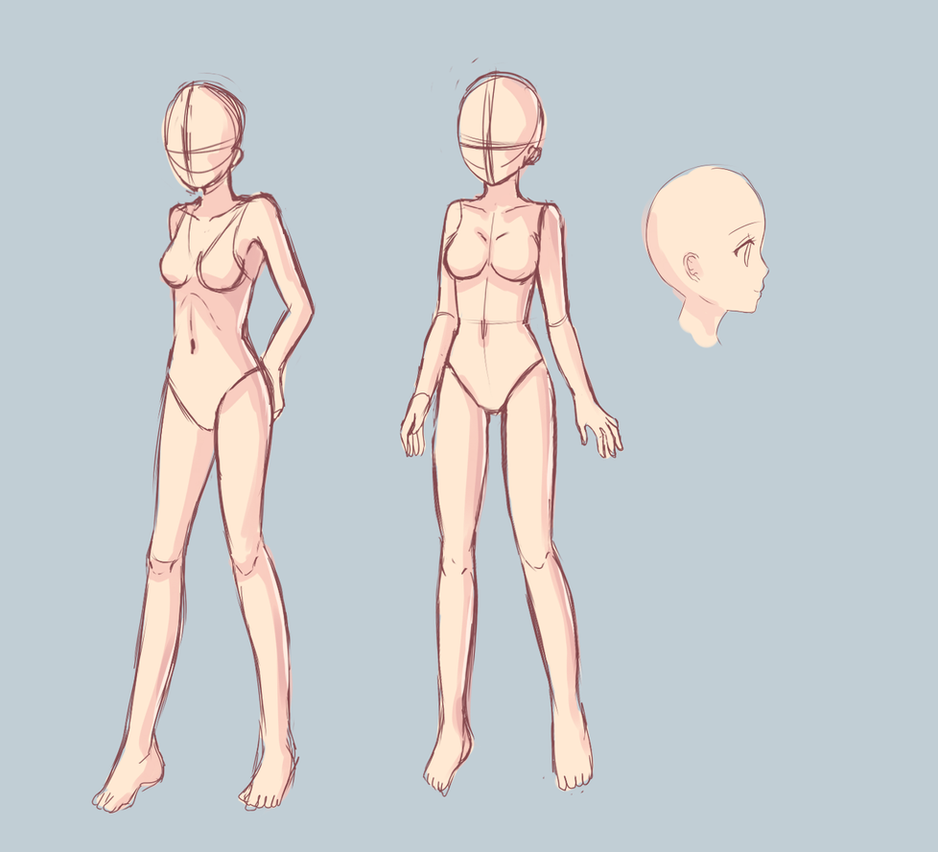 Anatomy study 2 - Critique me please by Luumies on DeviantArt