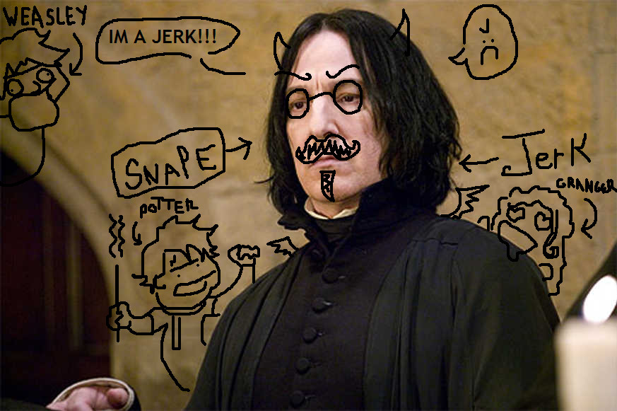 Snape is a Jerk Wallpaper by Laxitives