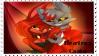 (F2U) Cantu x Electra Stamp by NinjaShadowPenguin