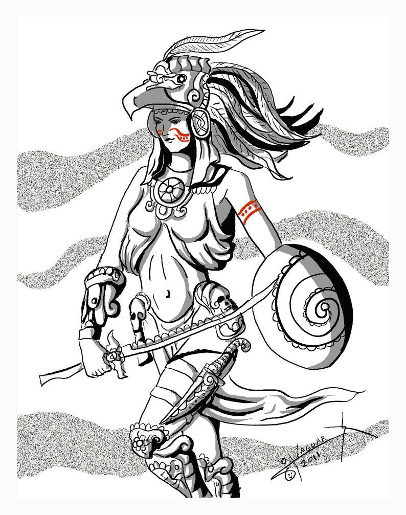 Dibujos De Aztecas