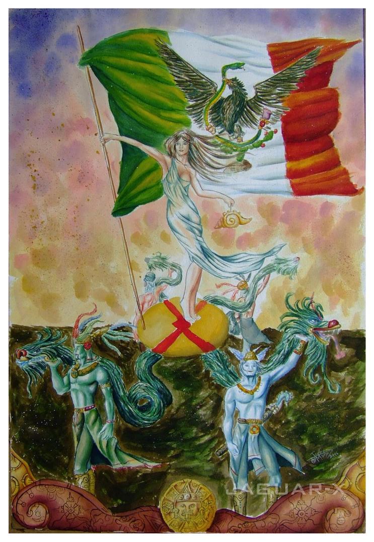 Mexico, Patria Eterna by Jaguar-X