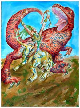 Nahuatls y dinosaurios