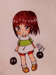 chihiro (fanart cover) by cherry1812