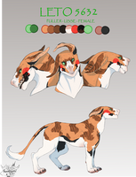 [Commission] Leto Reference Sheet by FrossetHjerte