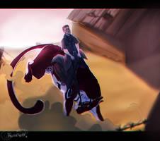 [Commission] Illustration for SevereHercules by FrossetHjerte