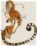 [CLOSED AUCTION] Noodle tiger dragon! by FrossetHjerte