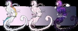 [OPEN ADOPT] FLAT SALE Noodle Dragons! (2 Open)
