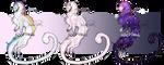 [OPEN ADOPT] FLAT SALE Noodle Dragons! (2 Open) by FrossetHjerte