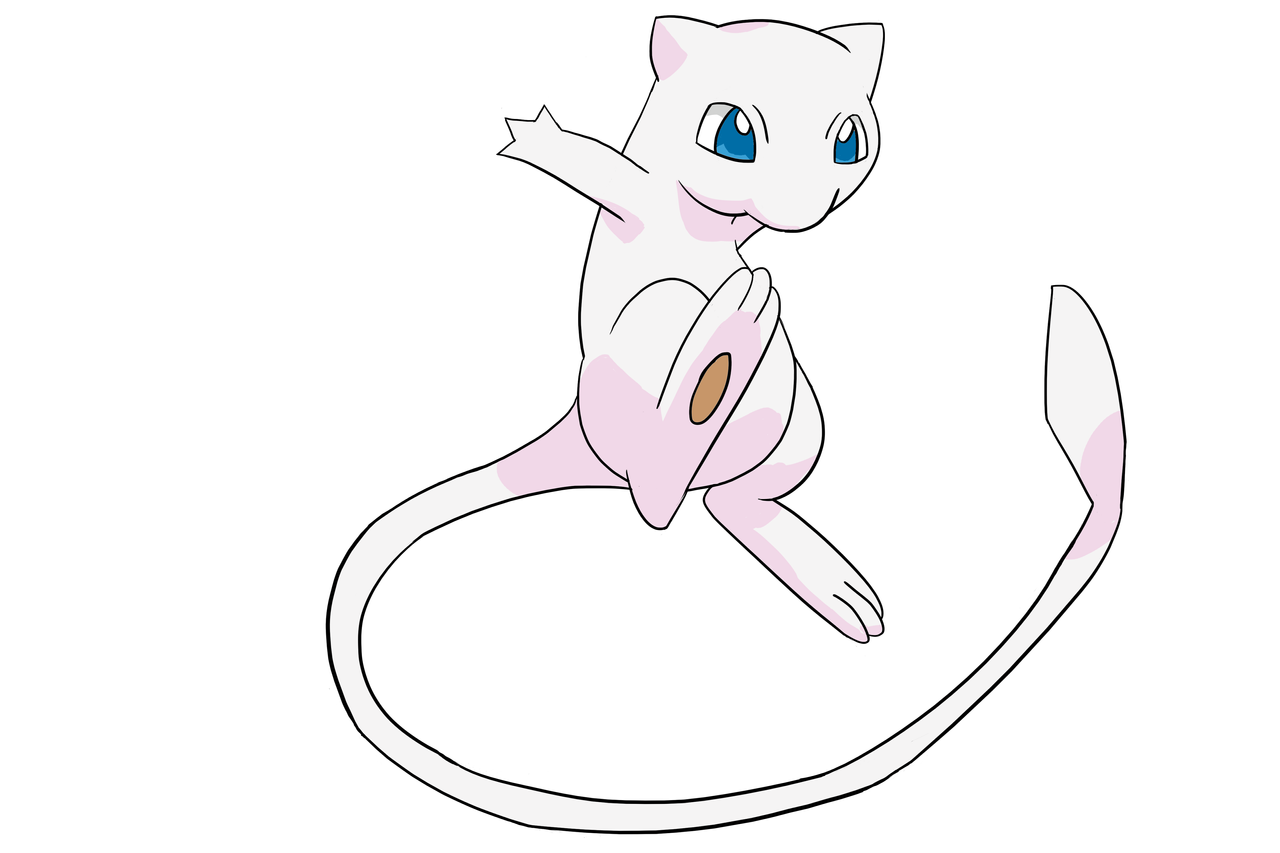 anime pokemon mew - photo #10