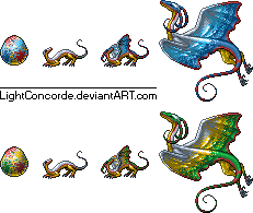 Ornamental Dragon by LightConcorde