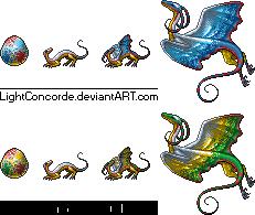 Ornamental Dragon by LightConcorde
