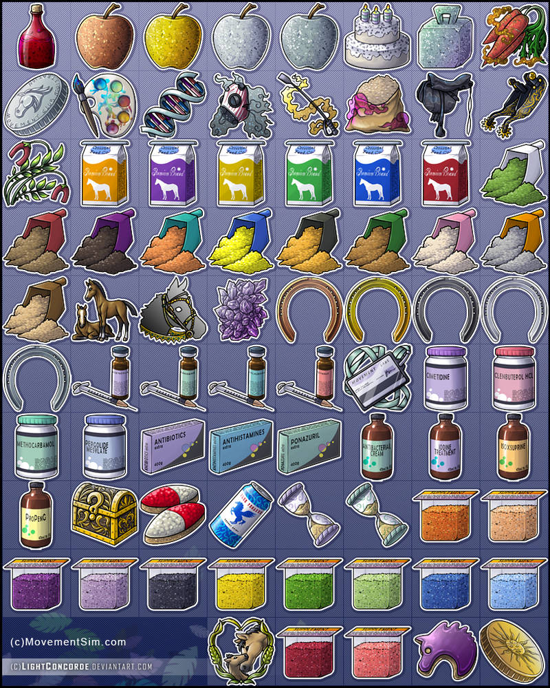 [comm.] Movement Sim items