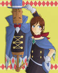Trucy Wright and Mr Hat