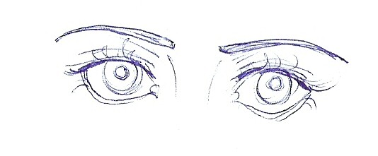 Eyes 2. by desiredwolf
