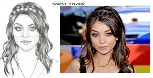 Sarah Hyland portrait