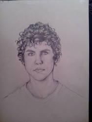 Portrait of teenager boy - commission