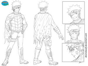 Naruto character sheet - commission