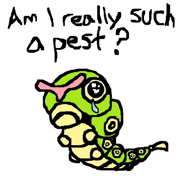 Pokemon Caterpie Images