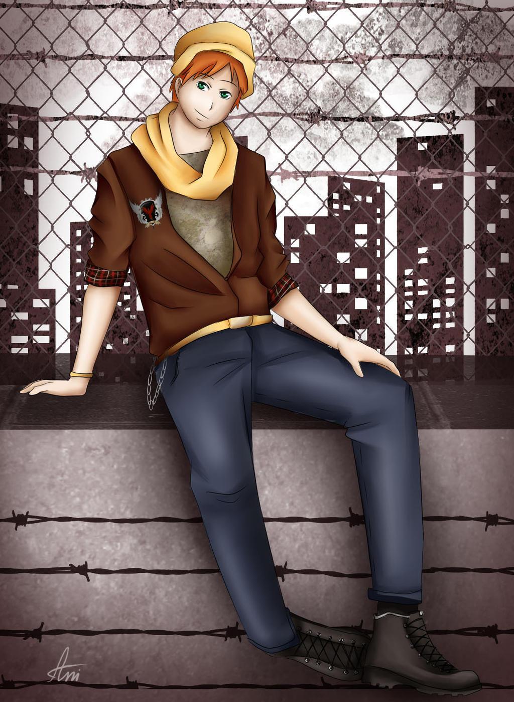 Urban style Damian by Maniac-ani