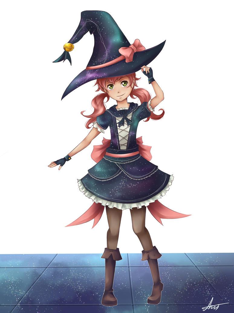 Little Witch Hibiki by Maniac-ani