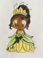 Tiana  by Mushroom-Cookie