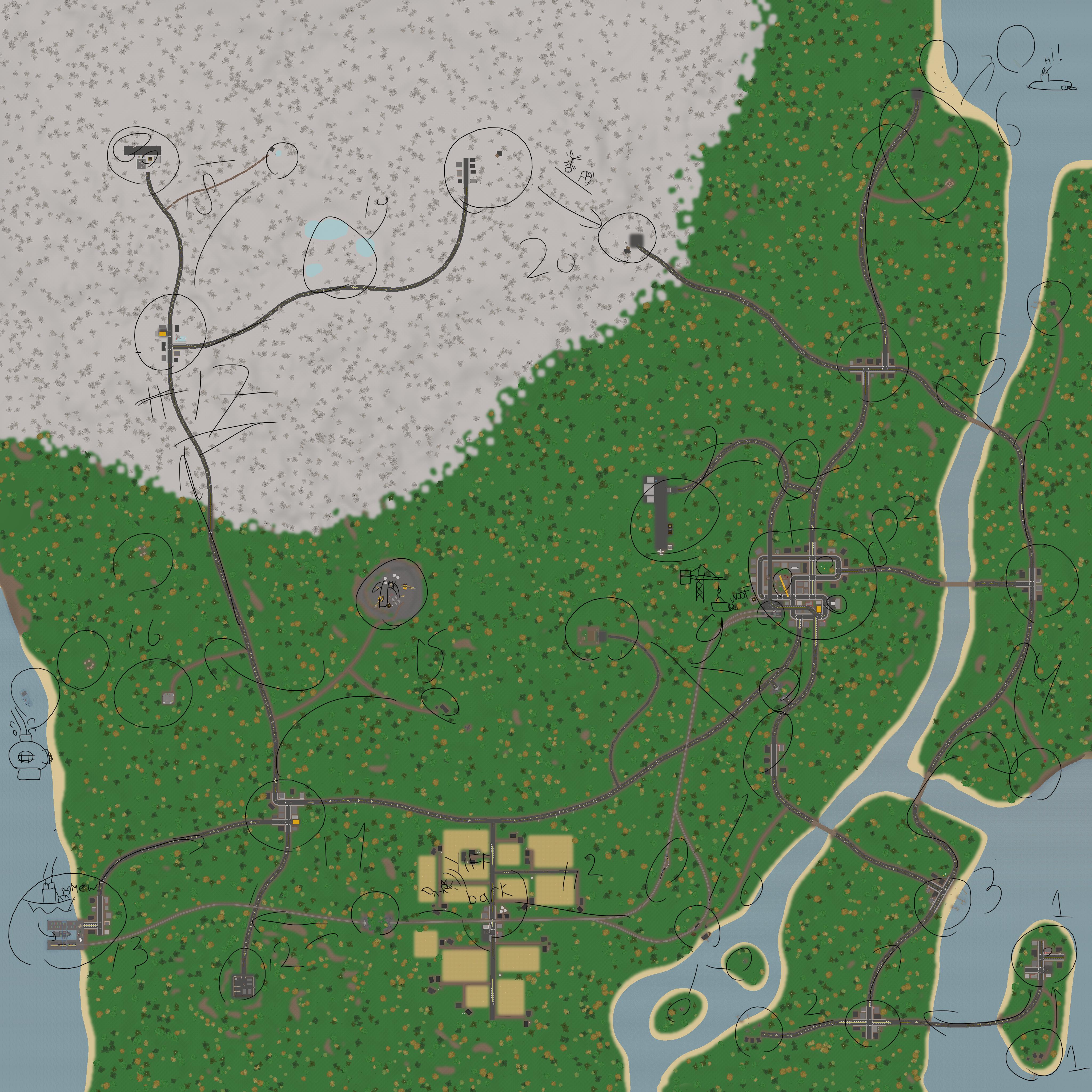 Unturned Canada Map Trip By MechAh On DeviantArt - Japan map unturned