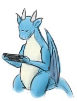 [DOODLE] Video Games with Lorem by Mech-Ah