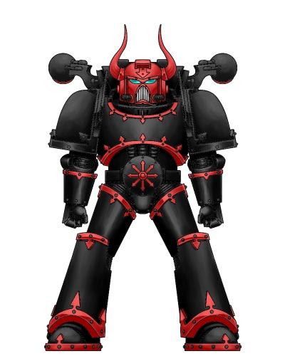 Chaos Space Marine - Adeptus Capitibus Traitors by Marluxia-1