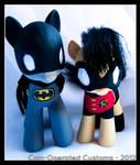 Batpony and Robin