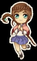 Art Trade ~ Kayami for AngelKite by chiisana-m