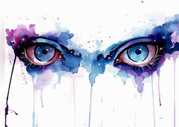 Eyes of the universe by Nevaart