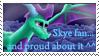 Skye stamp by xSPYROTHEDRAGONx