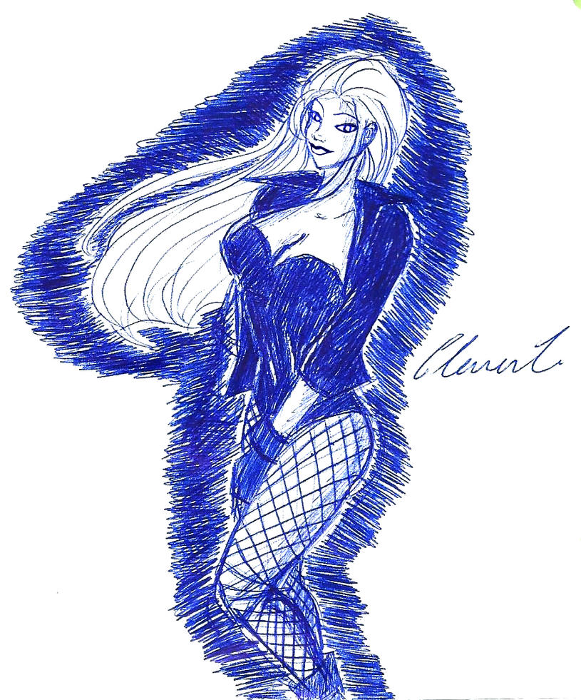 how to draw black canary