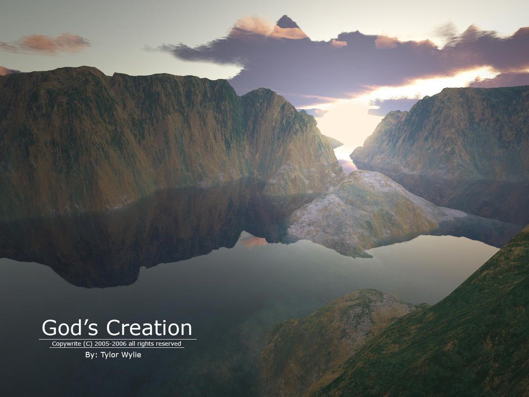 gods creation An amazing video with stunning soundtrack, showing the awesome, beautiful creation of god how can anyone believe in evolution after watching this may it i.