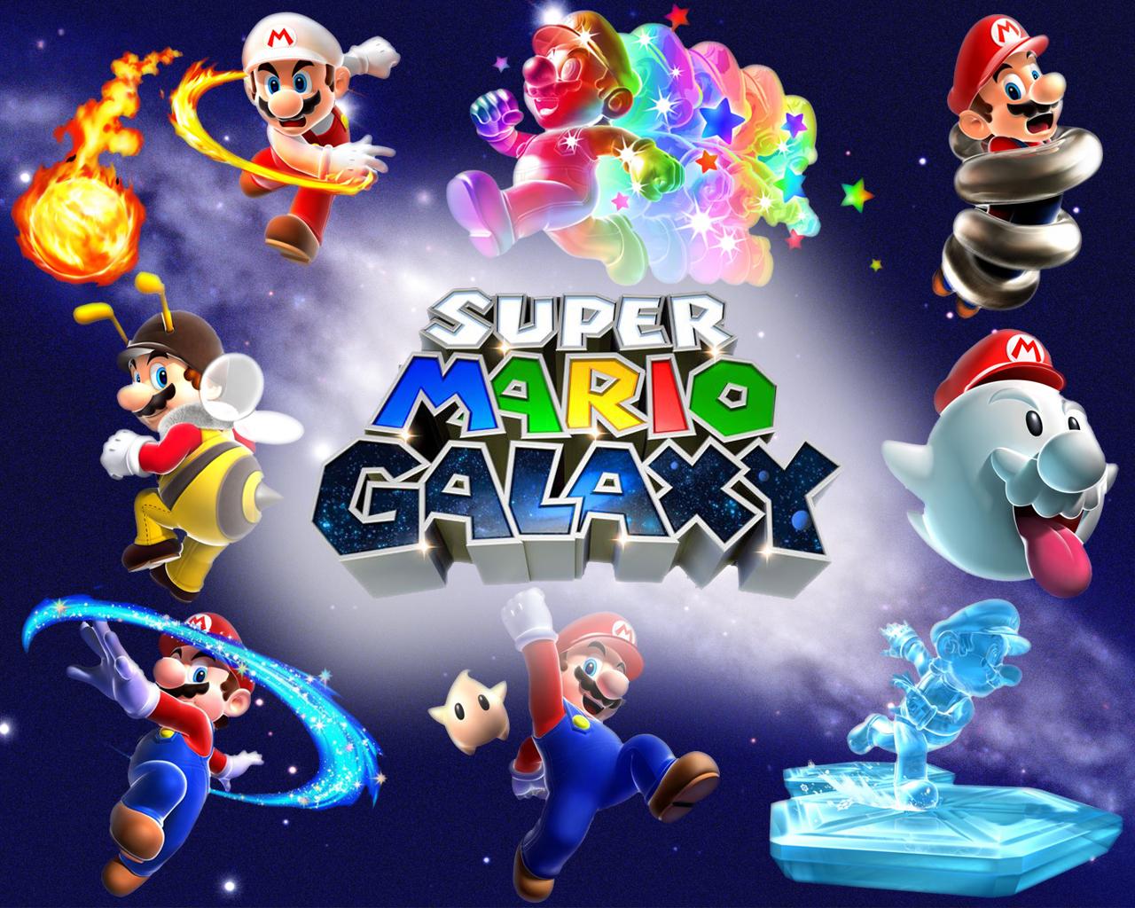 Super Mario Galaxy Wallpapers: Super Mario Galaxy Wallpaper By Whatnotdude On DeviantArt