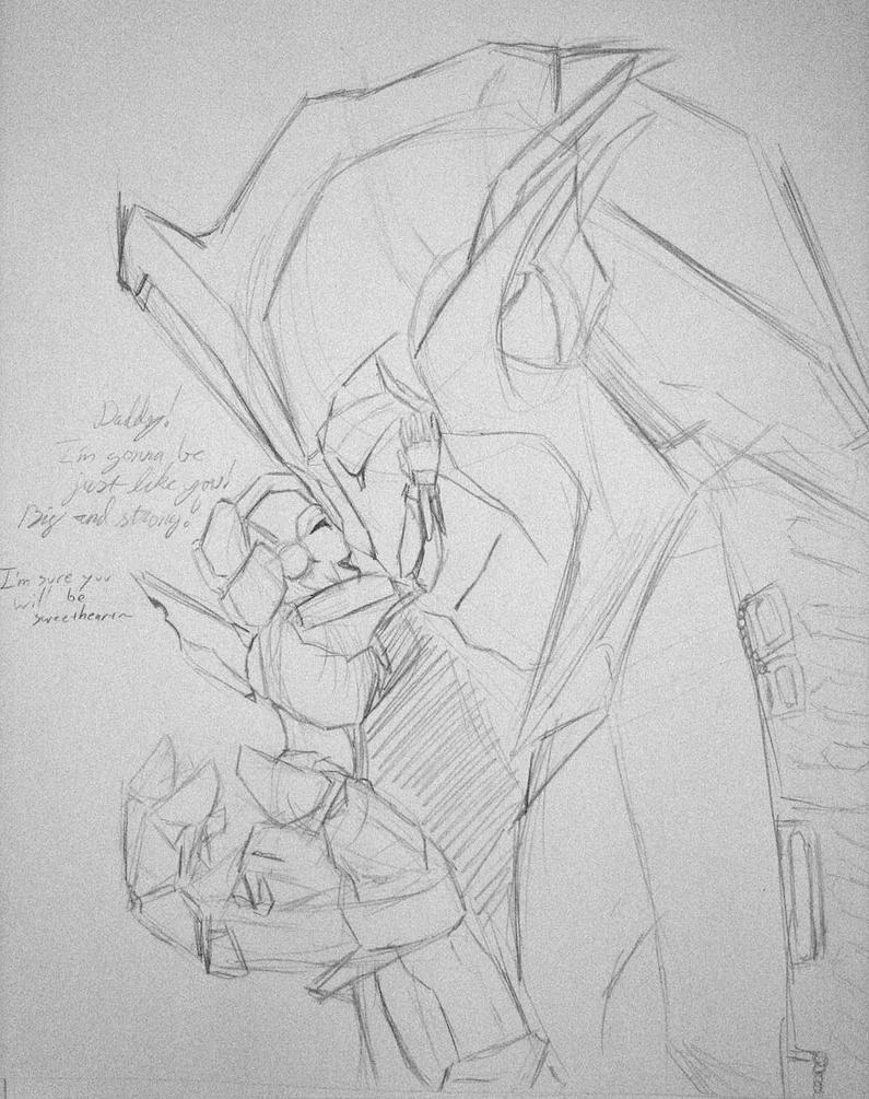 Daddy! by eaglespirit1
