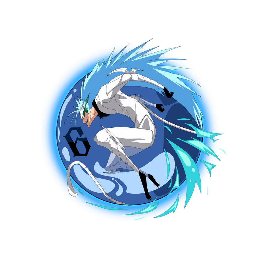 Grimmjow Final Form Tshirt Design (New Version) by Creative2Bit