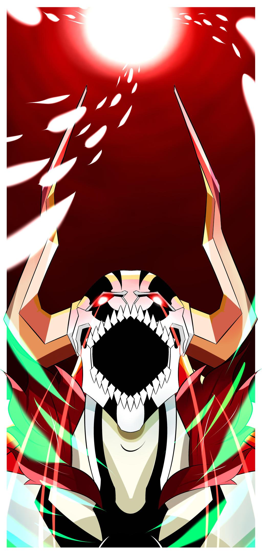 BLEACH: Ichihgo Hollow Rage Poster by Creative2Bit