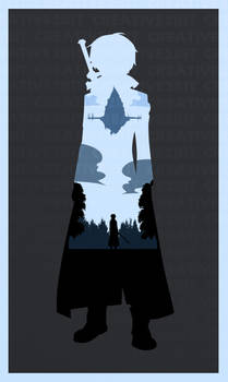 Sword Art Online (I Will Reach The Top) Poster by Creative2Bit