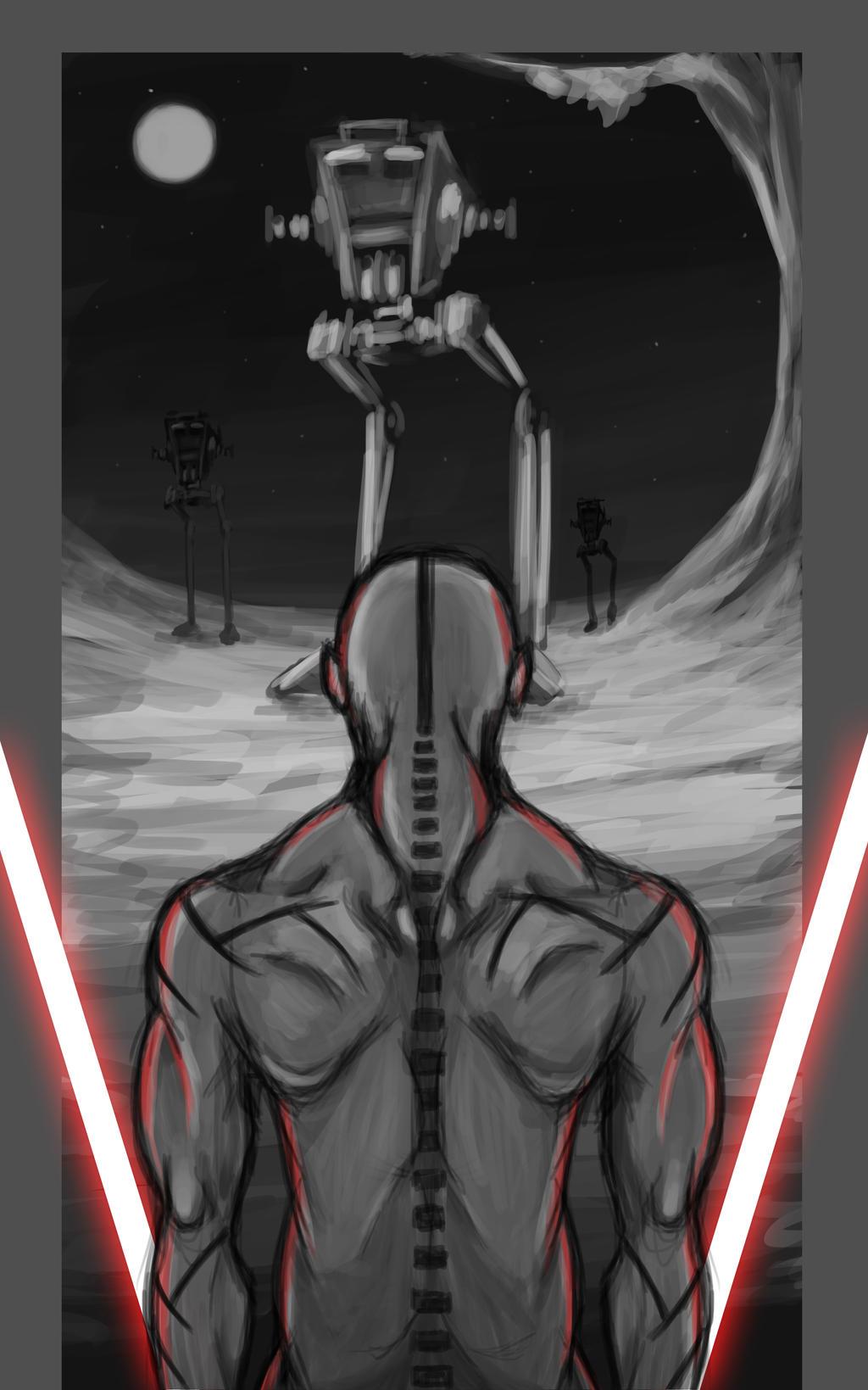 STAR WARS: Nightbrother OC (Spine) by Creative2Bit