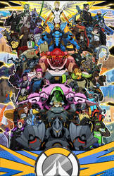 OVERWATCH: (All Their Glory) by Creative2Bit