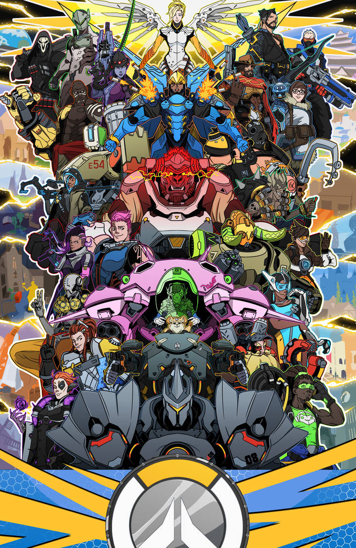 OVERWATCH: (All Their Glory)
