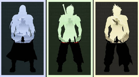 Final Fantasy 7: Blood Binding Brothers by Creative2Bit