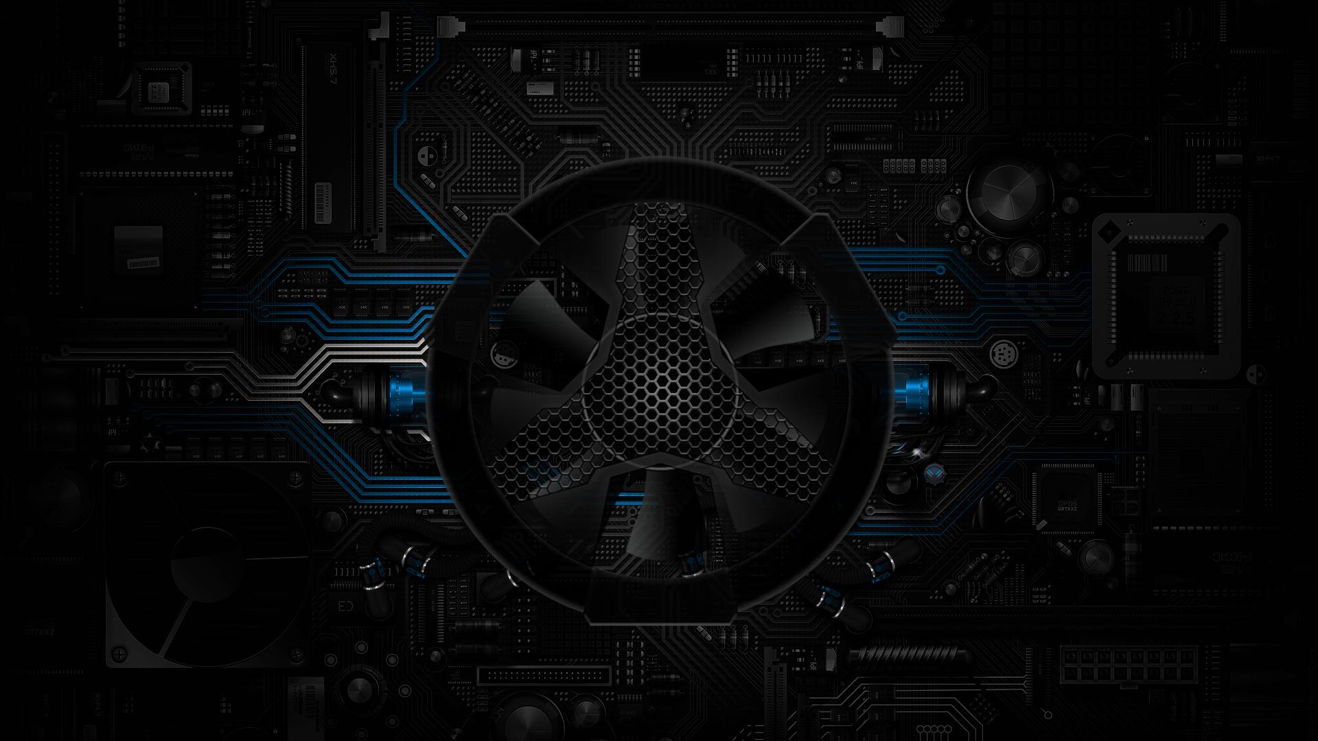Digital Circuits Fan Blue By Littlejacob On Deviantart