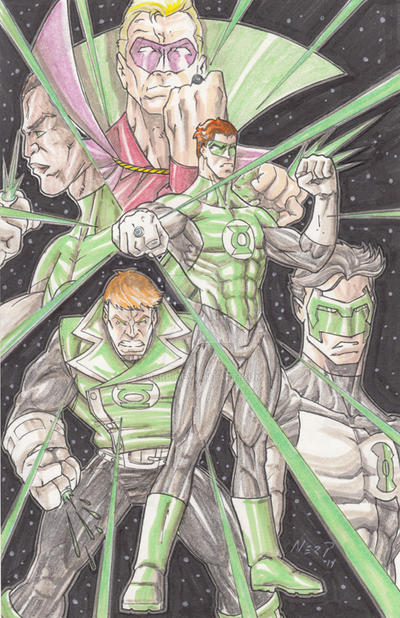 Emerald Warriors by nerp