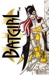 Batgirl by nerp