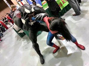 Venom Eats Spidey