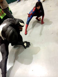 Venom vs. Spidey