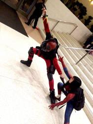 Deadpool vs. Spidey