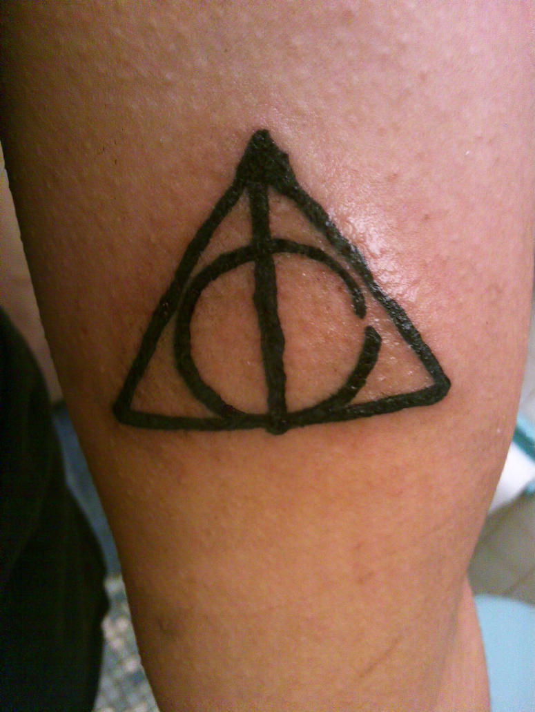 Deathly hallows tattoo by raynblue on deviantart deathly hallows tattoo by raynblue buycottarizona
